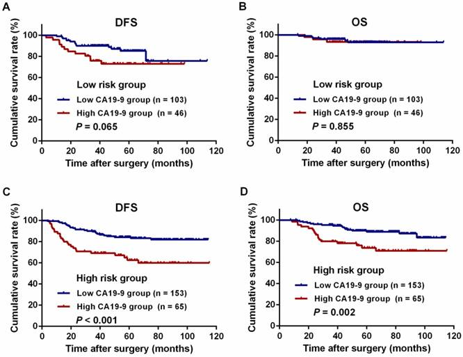 High Pretreatment Serum Ca19 9 Level Predicts A Poor Prognosis For Patients With Stage Iii Colon Cancer After Curative Resection And Adjuvant Chemotherapy